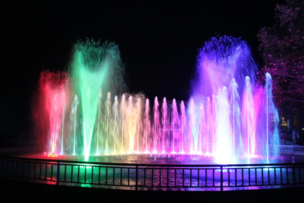 peeshti fontani v panagyurishte