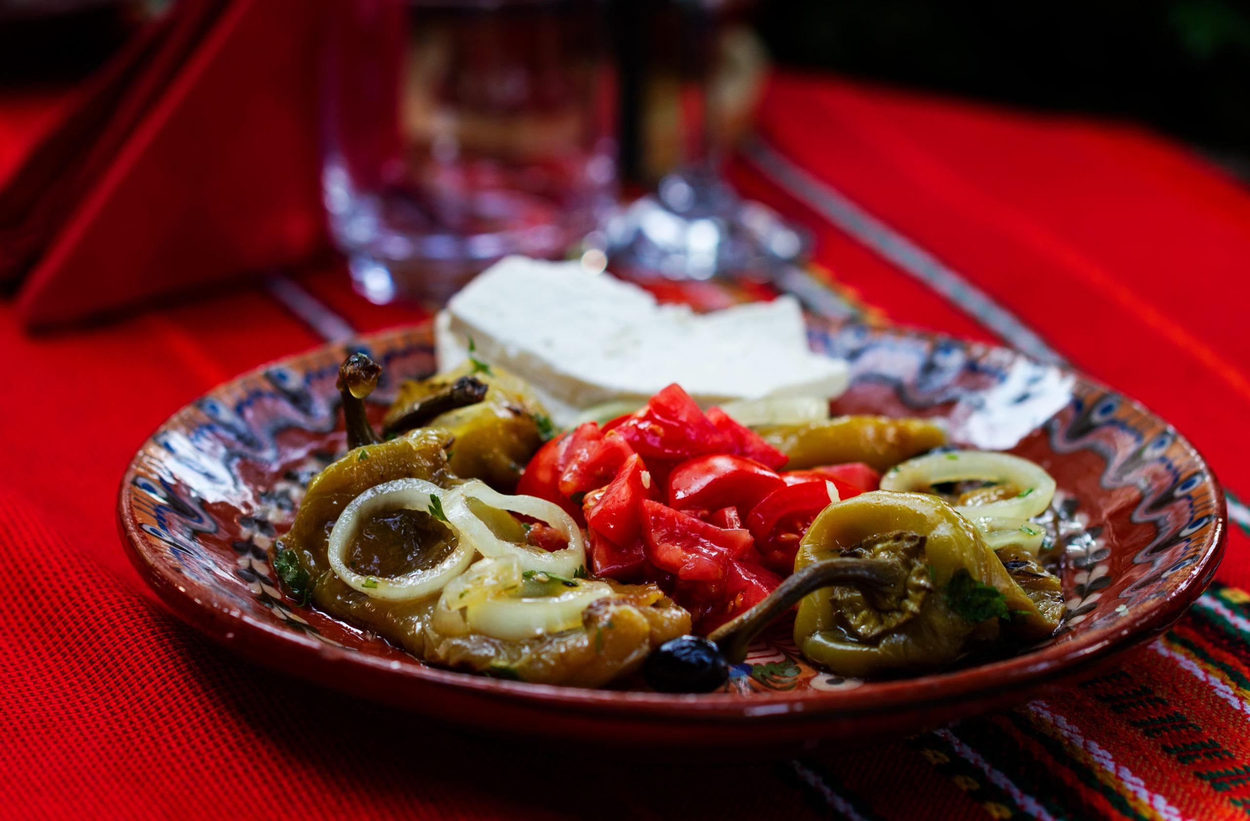 tatiova salata s pecheni chushki